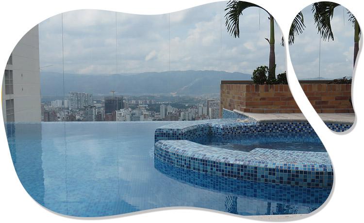 Agua de piscinas